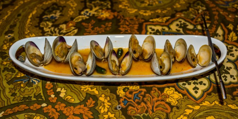 Clams in Tomato broth
