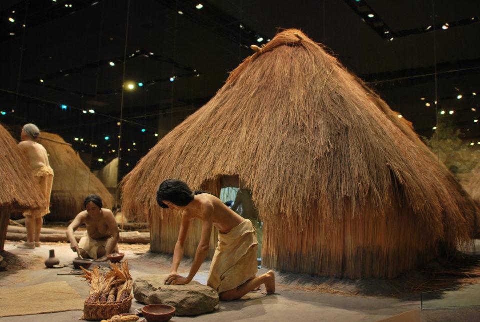 Lifesize Diorama at Cahokia