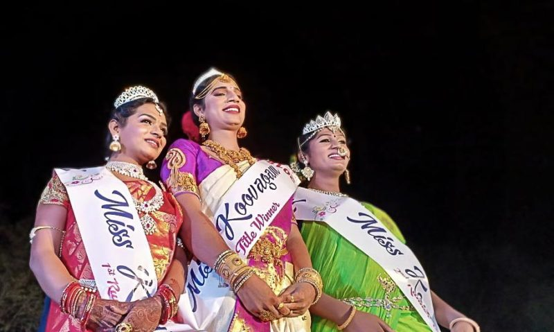 Miss Koovagam - winner of the Pageant in 2018