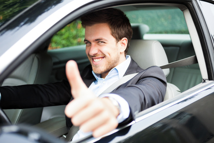 New Car Lease - Awesome feeling you get when getting behind the wheel of your new car.