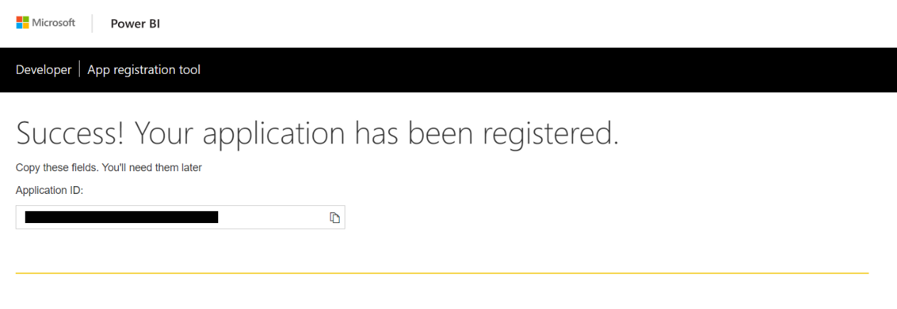 register-application-powerbi