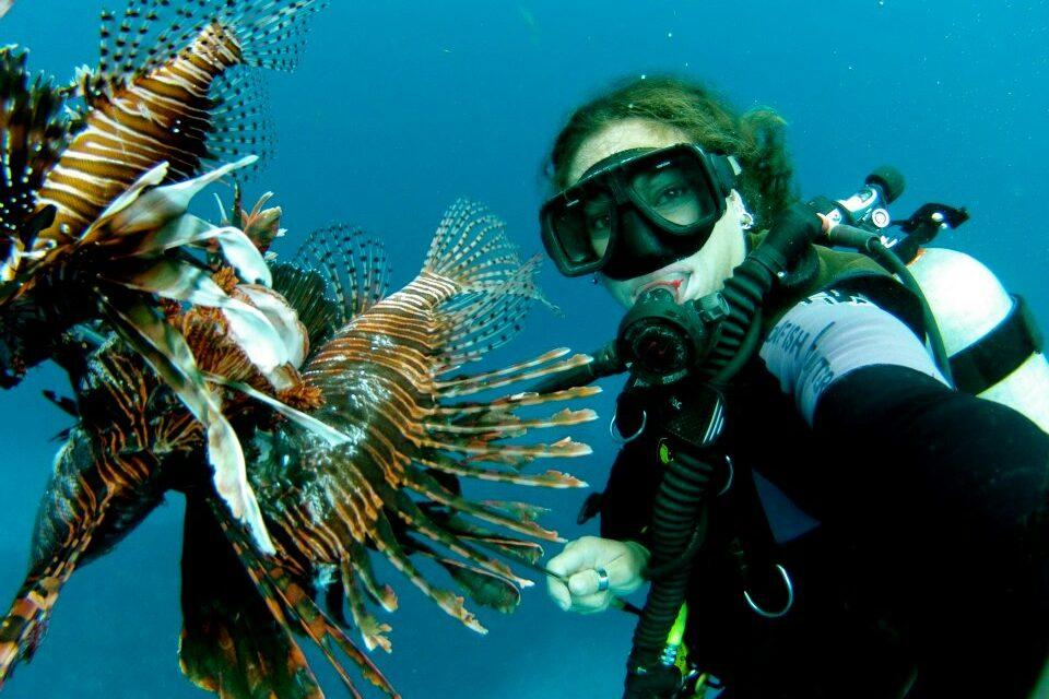 Lionfish hunt curacao