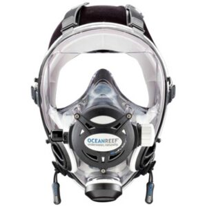 Integrated Dive Mask