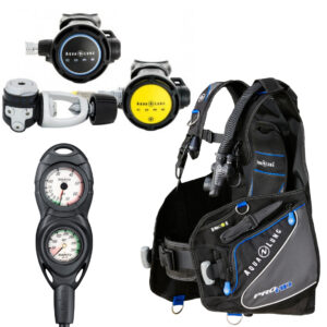 Aqua Lung Package BCD Reg Gauge