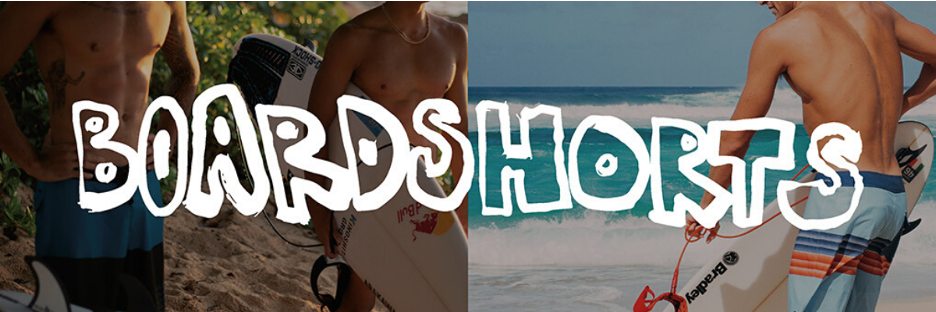 Quiksilver board shorts on Curacao
