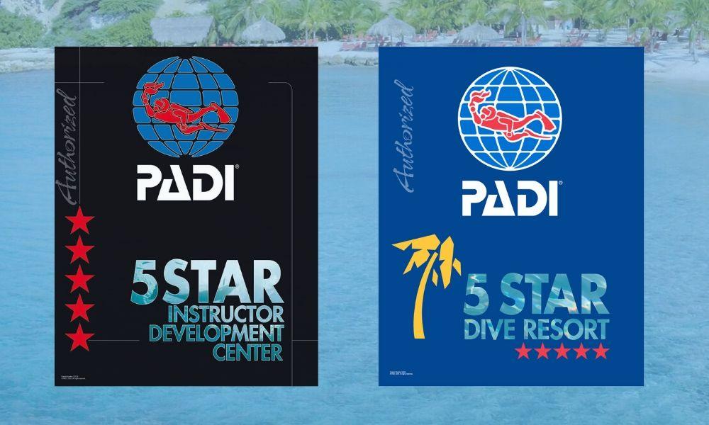 PADI 5 star