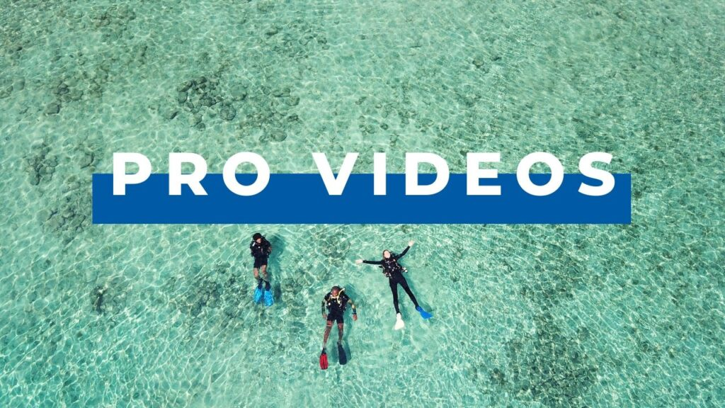 dive pro videos