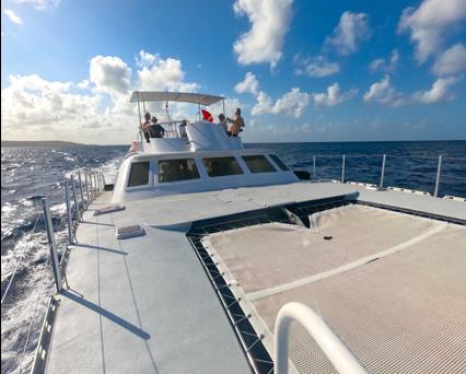 Blue Cat Dive Boat Trip