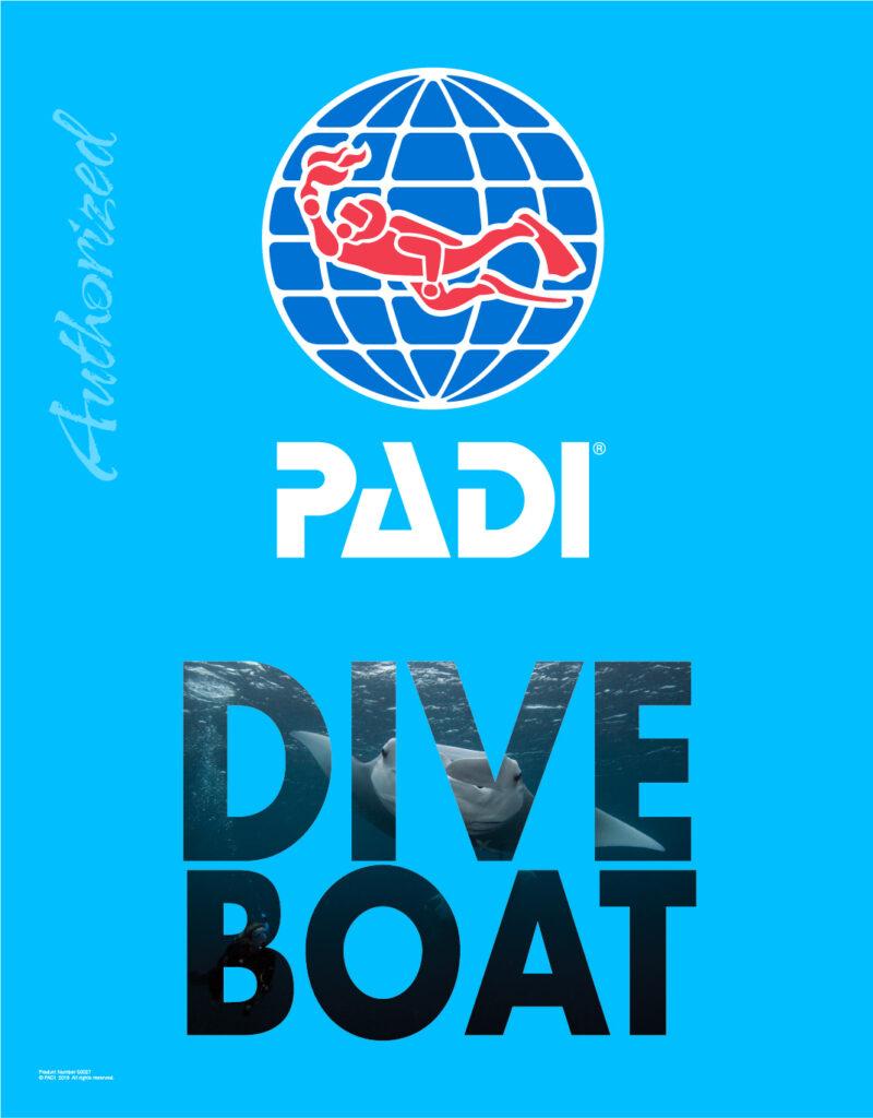 PADI Dive Boat