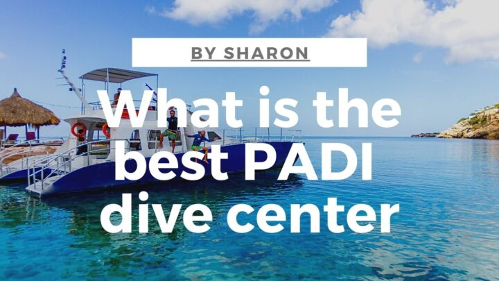 best padi dive center