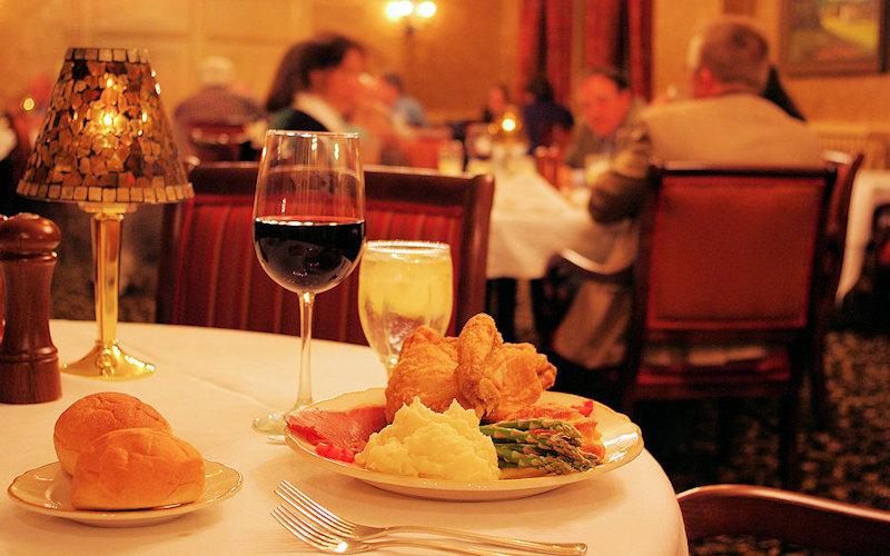 Beaumont Inn Dining Room