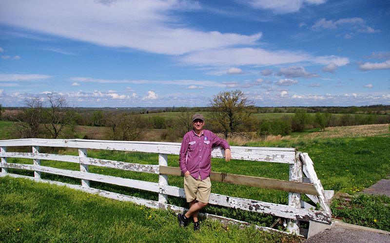 Hiking Shaker Village Kentucky