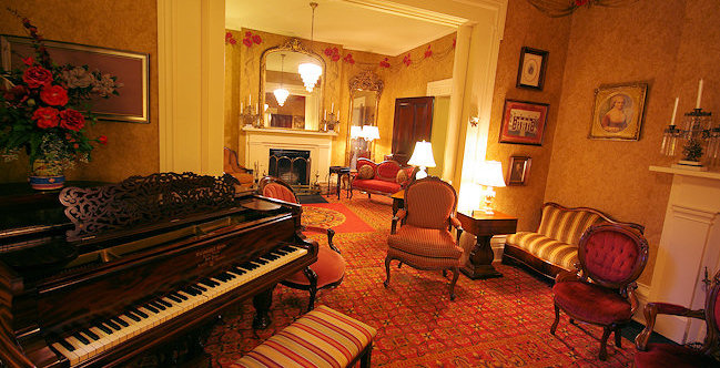 Parlor at Beaumont Inn