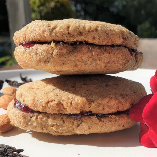 Hibiscus & Rose Cookies