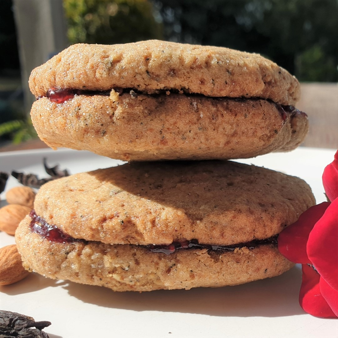 Hibiscus & Rose Cookies