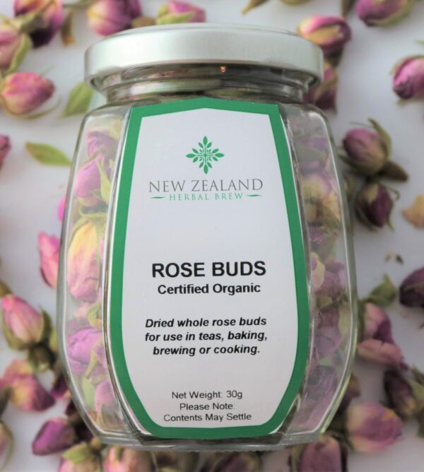 Rose Buds Pink by New Zealand Herbal Brew