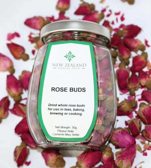 Rose Buds Crimson by New Zealand Herbal Brew