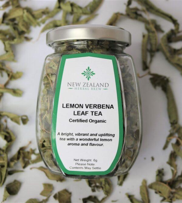 Lemon Verbena Leaf Tea by New Zealand Herbal Brew