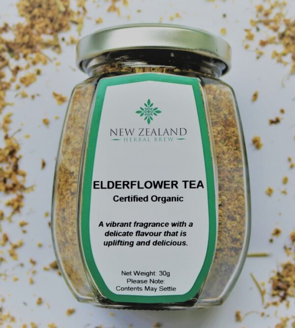 Elderflower Tea by New Zealand Herbal Brew