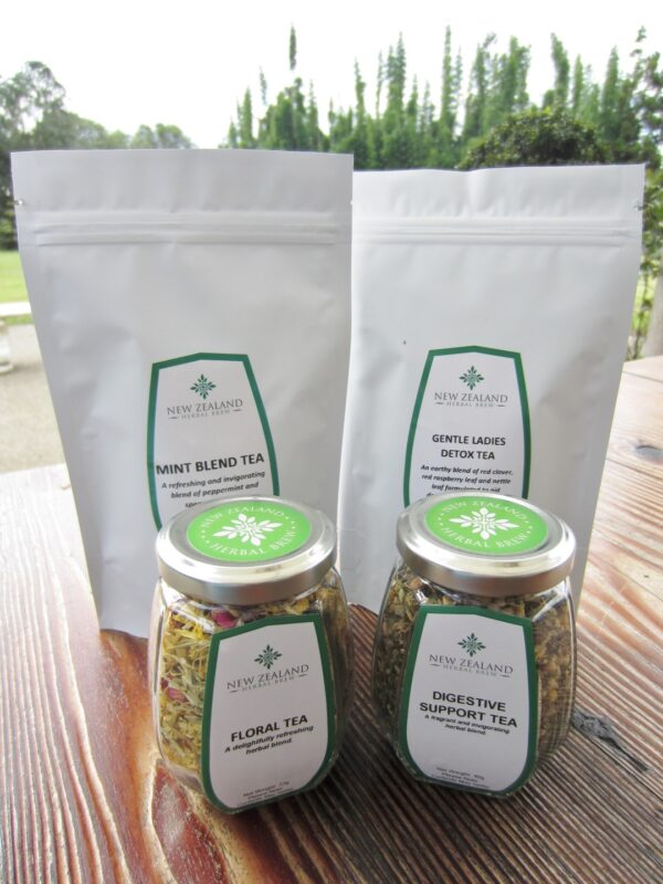 New Zealand Herbal Brew Tea Range