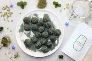 Chocolate Spearmint Bliss Balls
