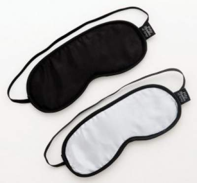 Fifty Shades Of Grey No Peeking Twin Blindfold Set