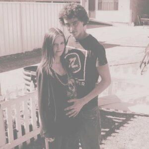 pregnant girl & boyfriend