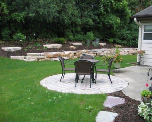 custom design patio