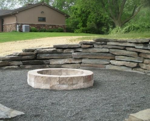 Custom Designed Fire Pit