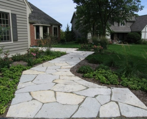 Front Entrances Walkway Brick Paver Front Paths