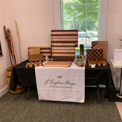 Handcrafted wood products, specializing in chef-quality cutting boards.