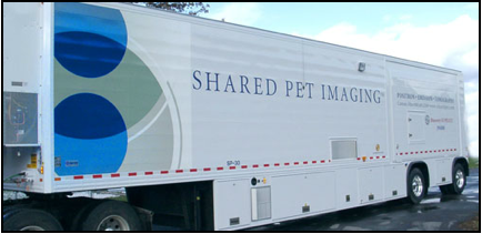 Mobile PET:CT Scan Facility