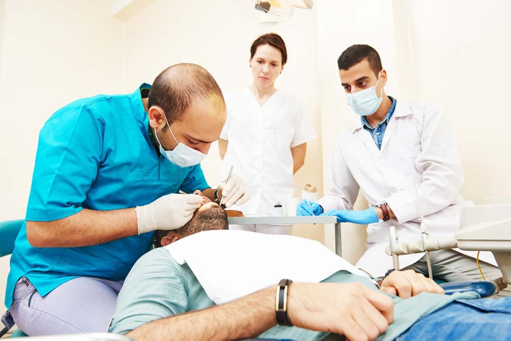 Detal Examination In Remote Dental Clinic
