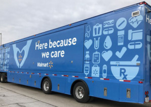 Walmart Mobile Pharmacy Facility