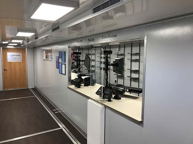 Checkout On Walmart Mobile Pharmacy Facility