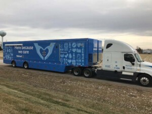 Front Outside View Of Walmart Mobile Pharmacy Facility