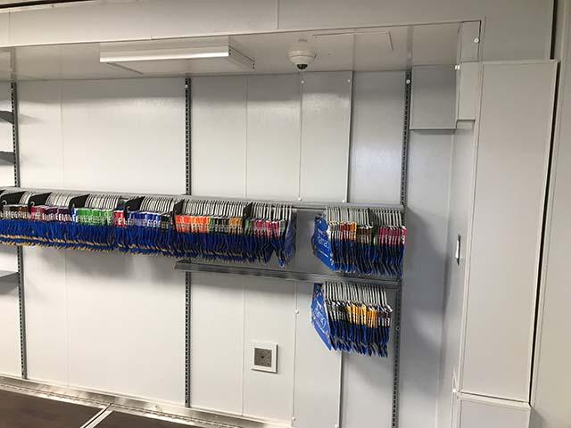 Inside Walmart Mobile Pharmacy Facility