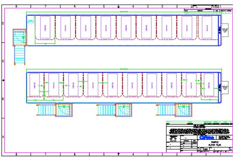 Floor Plan Of Our Covid  Mobile Icu Straight Facility