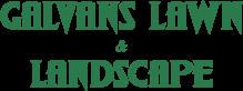 Galvan's Lawn & Landscape Logo
