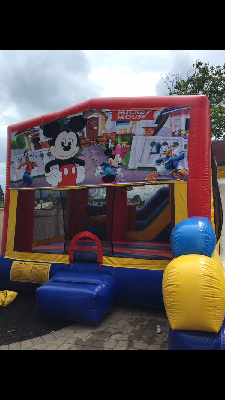 Mickey Mouse 5 In 1 Combo Unit Party Jam Parties