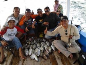 Team CVC strike ikan kuwe bersama KM Bintang Fajar | Fishing-mancing.com