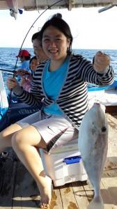 Mancing ikan kupas-kupas di karang Keroya | Fishing-Mancing.com