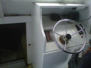 Bagian setir Kapal mancing Bintang Fajar 13 Mar 2013