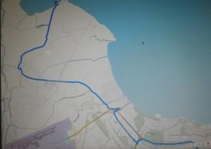 Peta ke Tanjung Pasir versi Google Maps