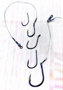 Mata kail barbless yang wajib dipakai di kolam monster LGK