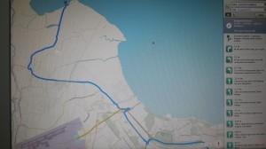 Peta standar menuju dermaga beton tanjung pasir tangerang I Fishing-Mancing.com
