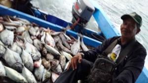 Hasil mancing hotspot pulau Pari