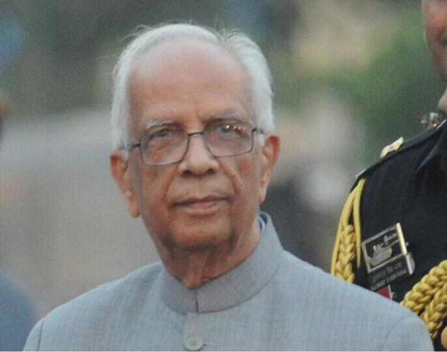 West Bengal and Bihar Governor Keshari Nath Tripathi has sworn in as the 16th governor of the northeastern state Mizoram.