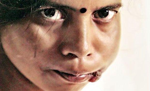 Sunita Tomar, face of India's anti-tobacco campaign.