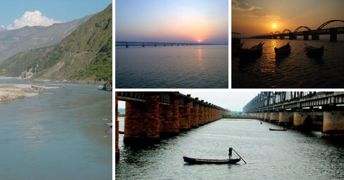 Ten important rivers in India